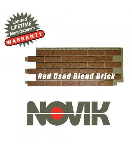 Novik Red Used Blend Brick